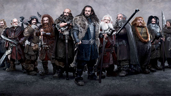 Hobbit dwarves
