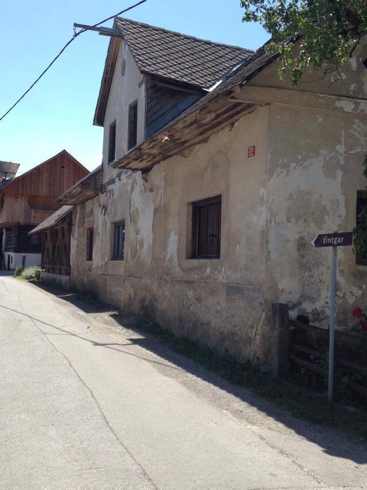 The adorable town of Vintgar