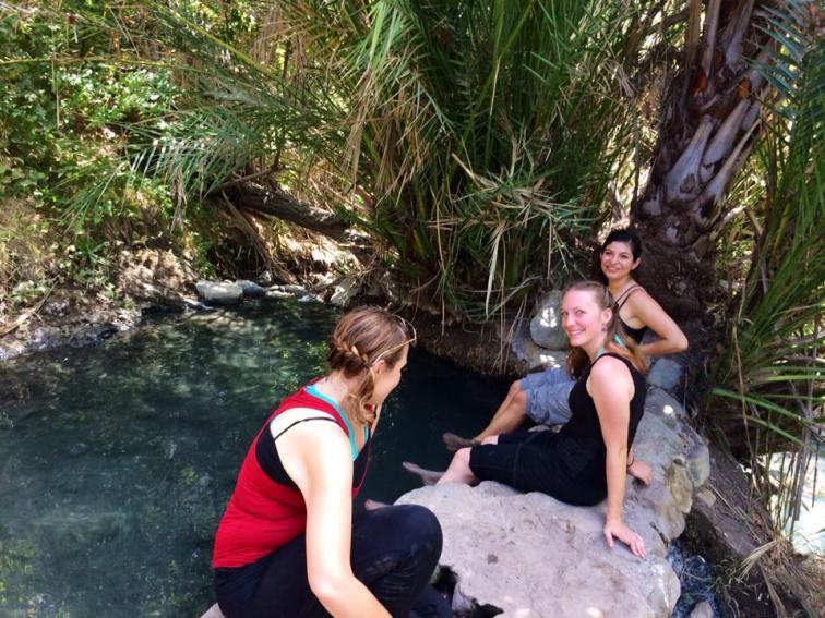 Stinky 'hot' springs.